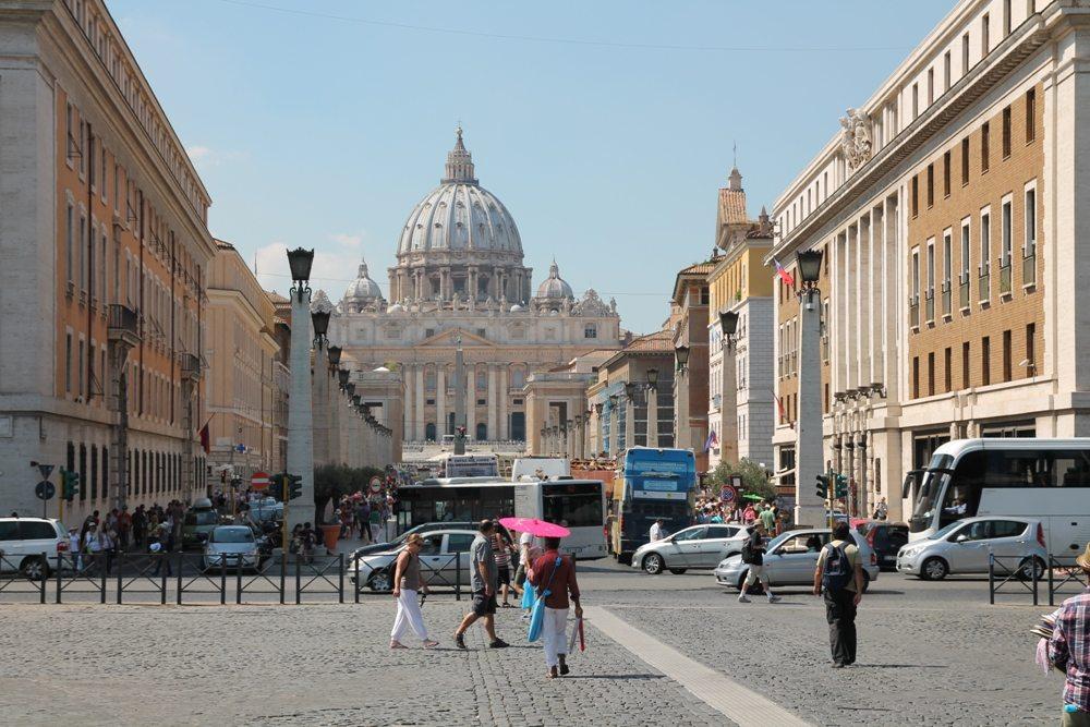 Kurztrip Rom: Petersdom als DIE Sehenswürdigkeit