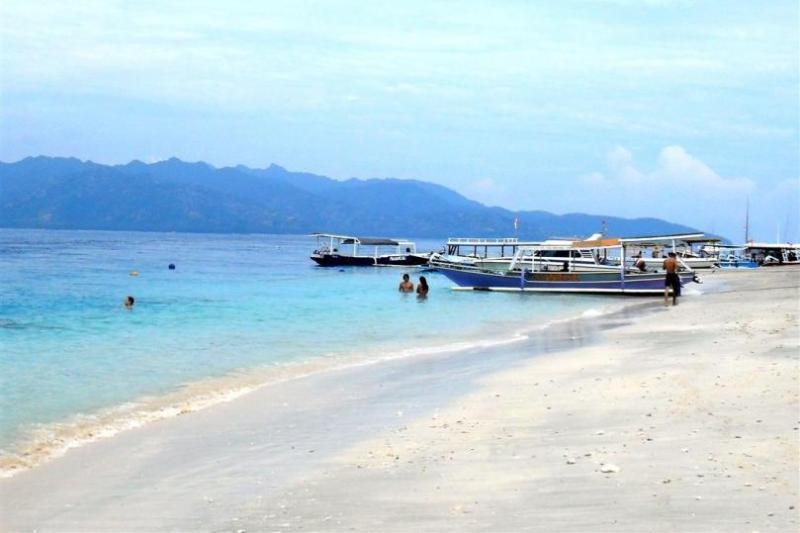 Der Strand von Gili Trawangan