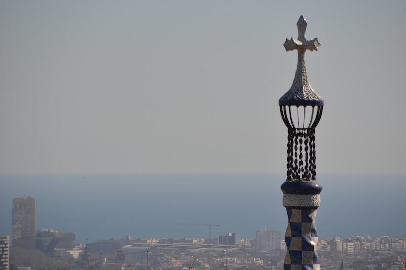 Tipps für Barcelona: Aussicht vom Park Guel