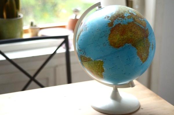 Geschenkideen für Reisende: DIY-Globus
