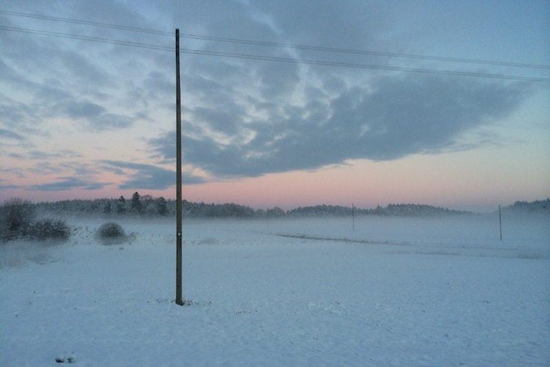 Winter in Polen