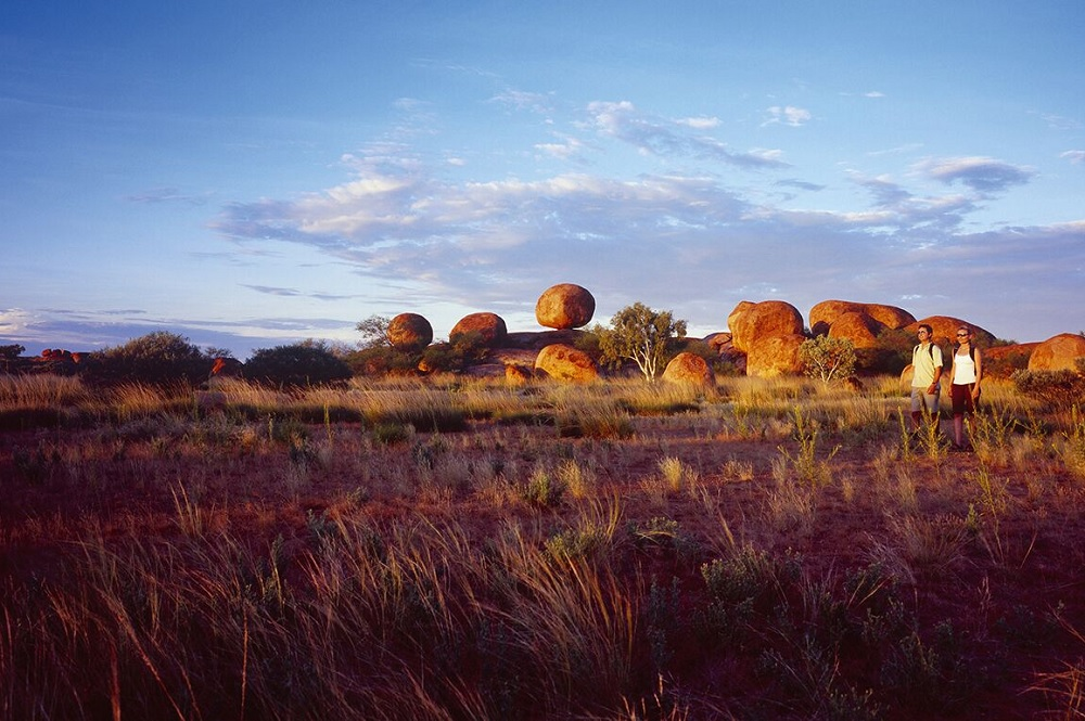 Gewinnspiel Australien-Reise: Conservation Reserve Karlu Karlu