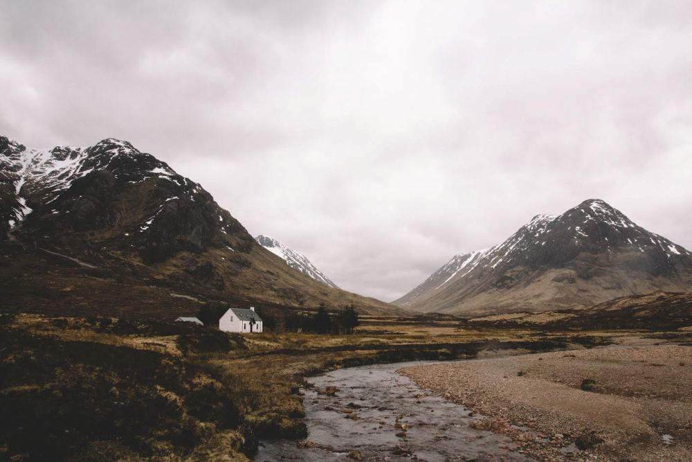 Mietwagen-Rundreise durch Schottland: Glen Coe in den Highlands