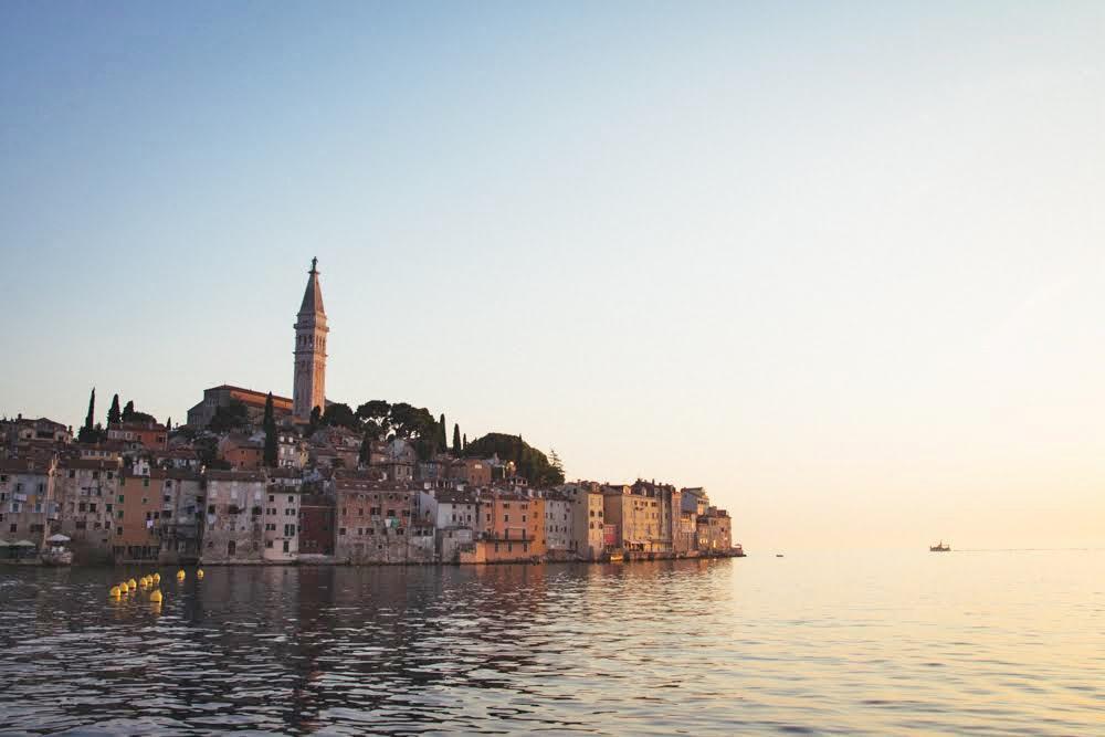 Balkan Rundreise - Rovinj ist eine wunderschöne Stadt in Istrien