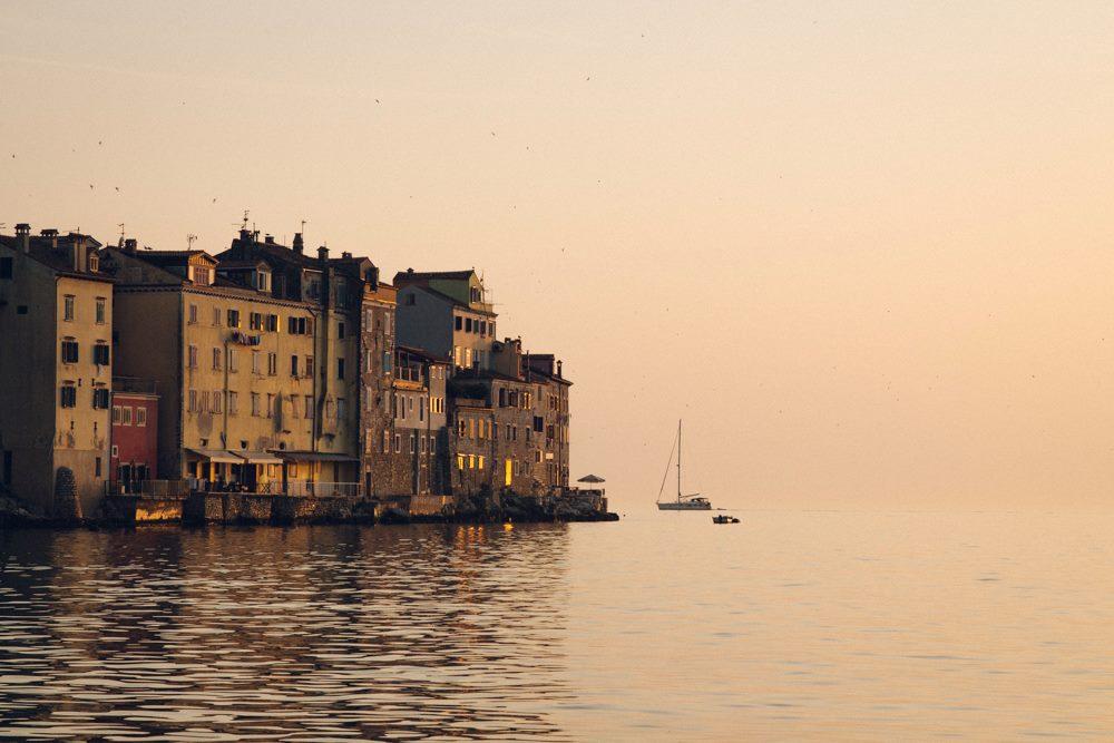 Traumreisen am Mittelmeer: Rovinj in Kroatien