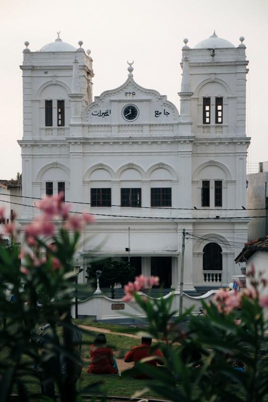 Altstadt von Galla im Süden von Sri Lanka