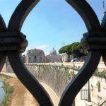 Kurztrip Rom-Blick auf den Tiber