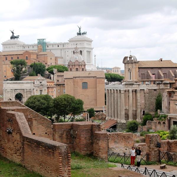 Kurztrip Rom, Sehenswürdigkeiten: Das Forum Romanum