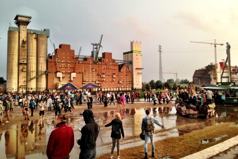 Dockville Festival in Hamburg - auch bei Regen schön