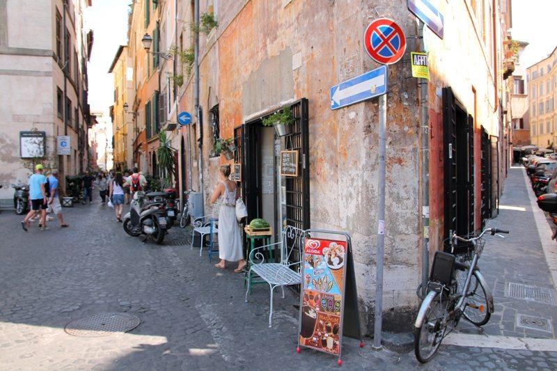 Günstig Essen in der Altstadt von Rom