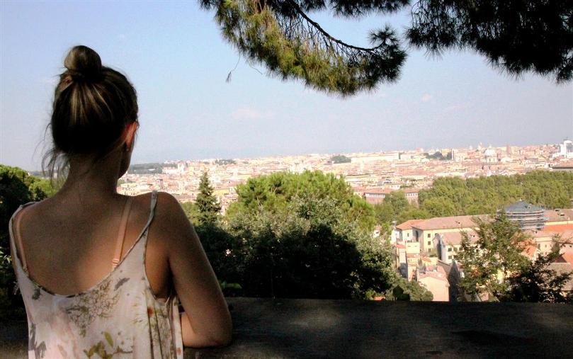 Kurztrip Rom: Spaziergang auf den Monte Gianicolo