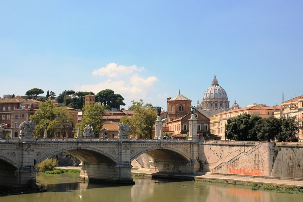 Kurztrip Rom: Tiber und Petersdom