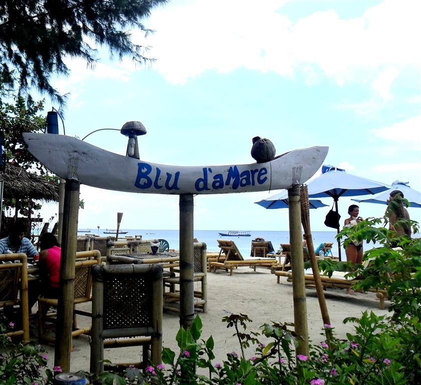 Gili Islands (Lombok) - Essen direkt am Strand von Gili Trawangan