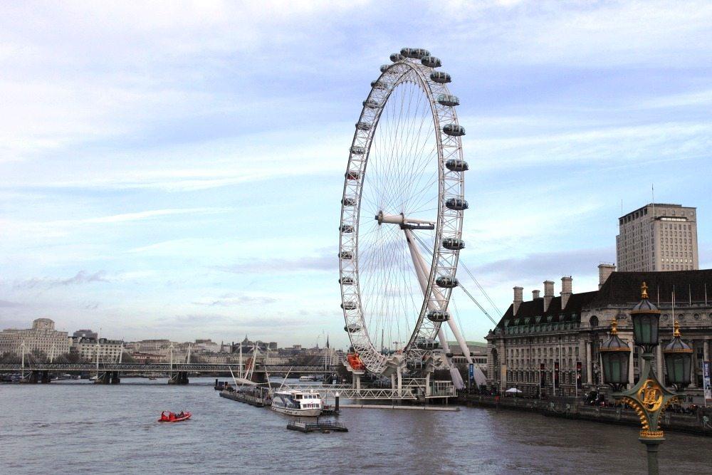Sehenswürdigkeiten in London: Das London Eye