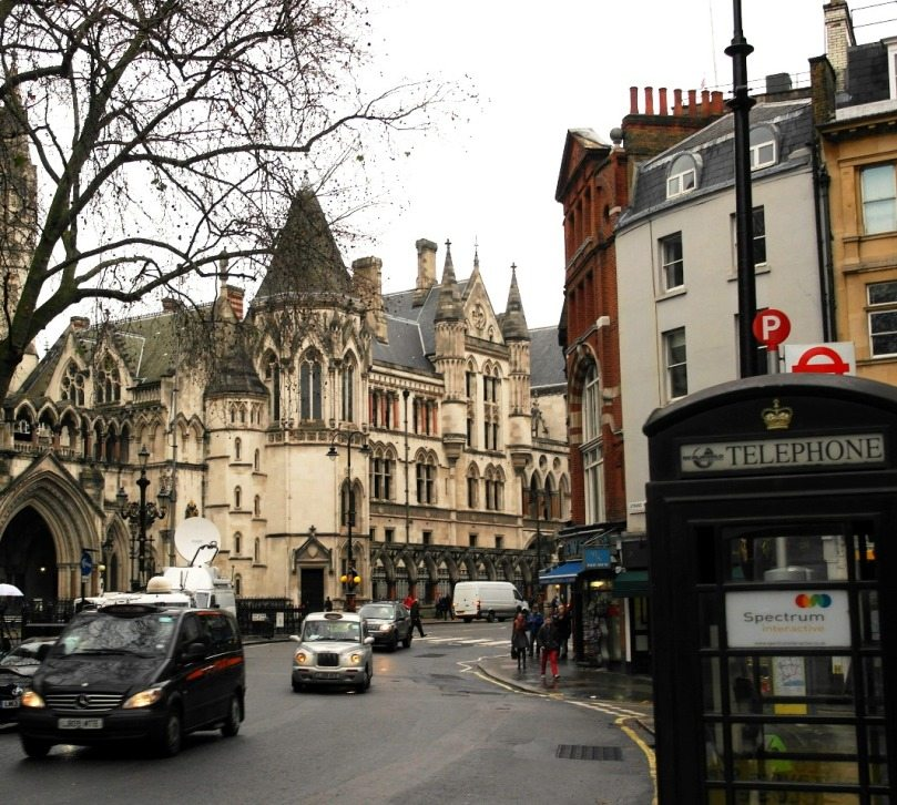 Sightsseing Tipp London: Royal Court of Justice