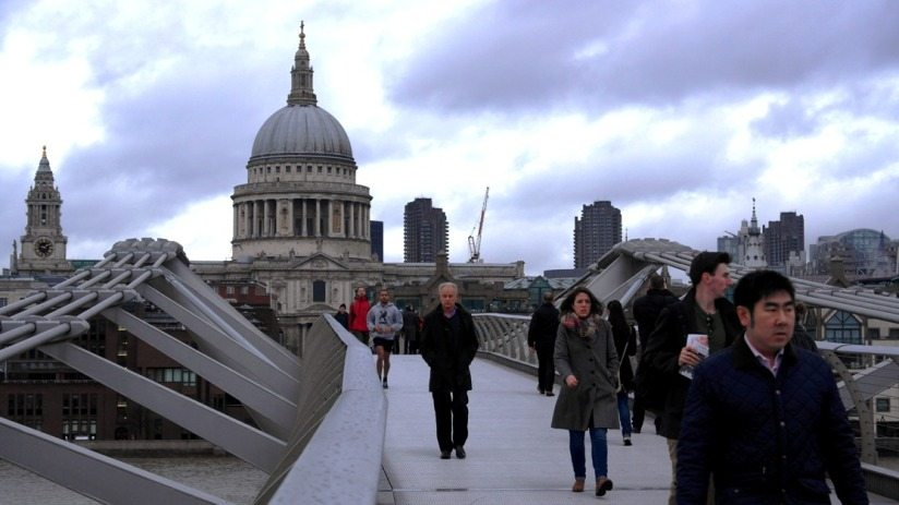 Ein Spaziergang durch London: St. Pauls Cathedrale