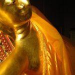 Ein liegender Buddha in Bangkok
