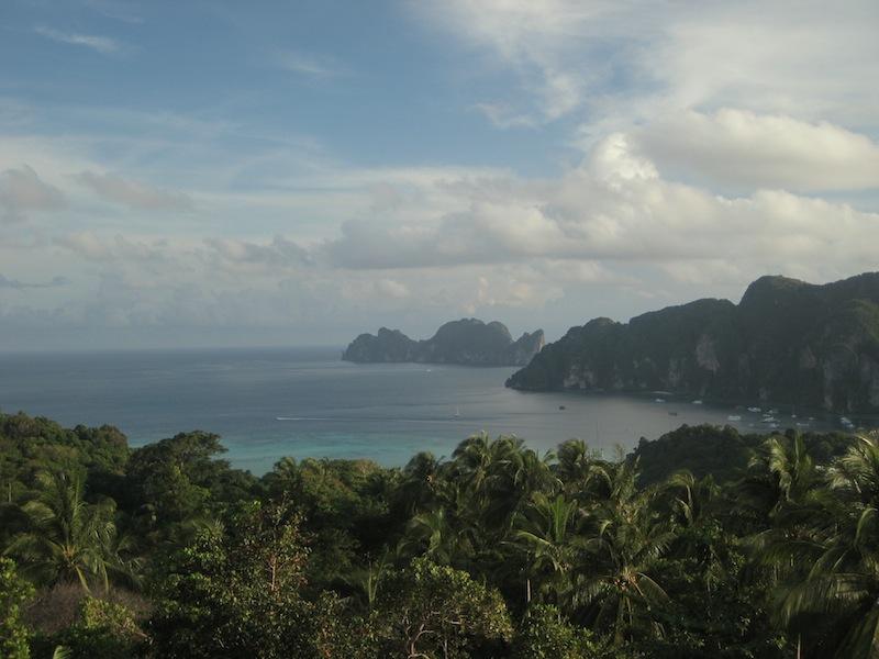 Aussicht von Ko Phi Phi