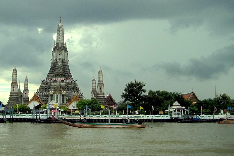 Bangkok in zwei Tagen - interessanter Ort: Wat Arun