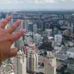 Die Aussicht vom Baiyoke Tower auf Bangkok ist beeindruckend
