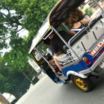 Tuk Tuk fahren in Bangkok ist irre