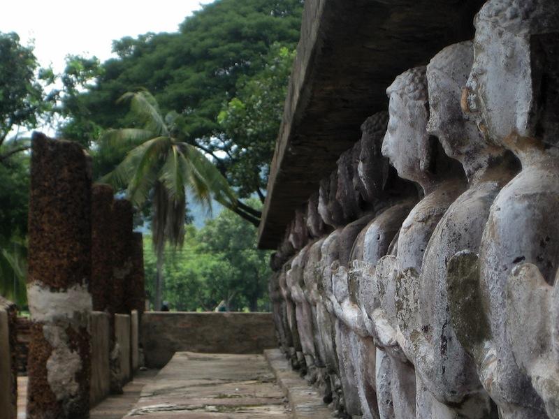 Wat Mahathat in Sukhothai im Norden Thailands