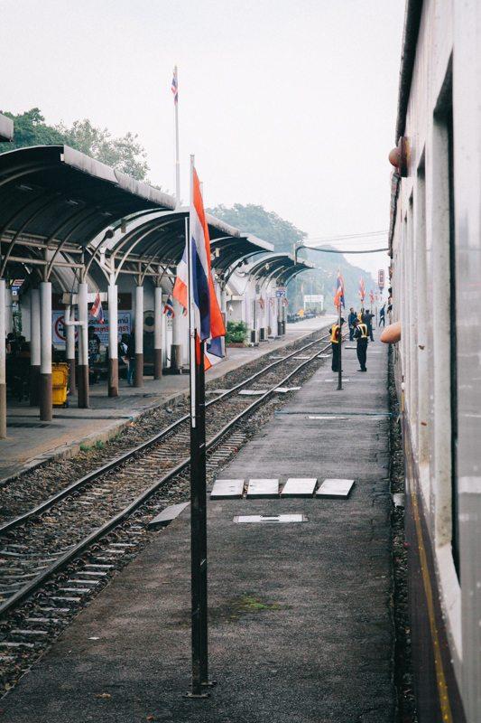 Zugfahren in Thailand - von Bangkok nach Ayutthaya
