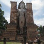 Wat Mahathat ist im Zentrum des Sukhothai Historical Parks