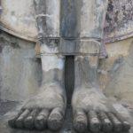 Füße so lang wie ein Bein