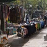 Ein Flohmarkt oder ein Souvernirstand ist nicht selten...