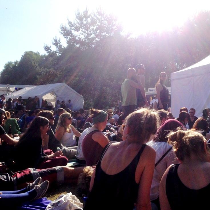 Lesung von Sven Regener auf dem Immergut Festival