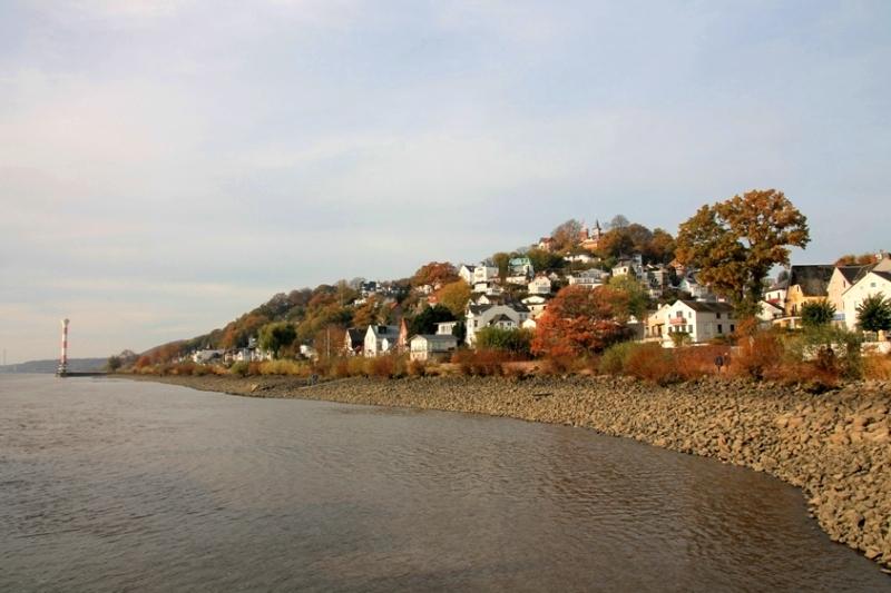 Schönste Orte in Hamburg: Blankenese an der Elbe