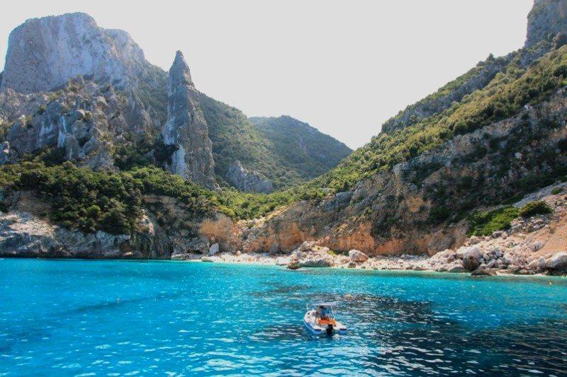 Bootstour durch den Golf von Orosei-Ostküste Sardinien