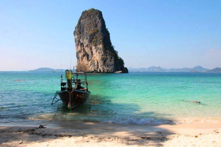 Herzklopfmoment in Thailand auf Ko Poda