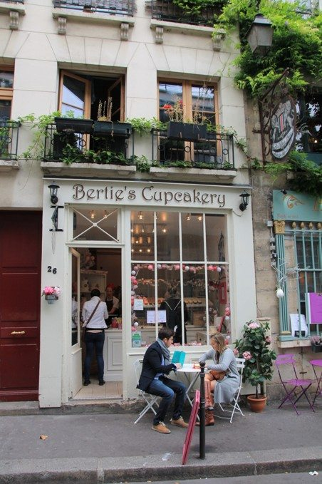 Essen in Paris: Cupcakes am Notre Dame
