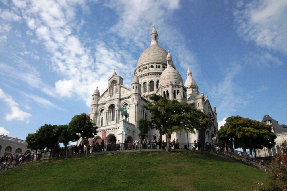 Sehenswürdigkeiten in Paris: Sacre Coeur in Montmartre