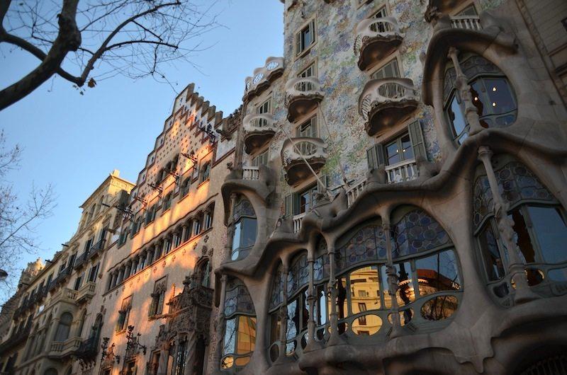 Barcelona Tipp Architektur: Gaudis Casa Batllo