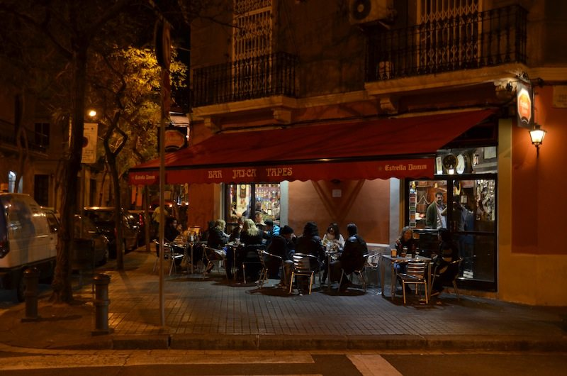 """""""Echte"""" Atmosphäre in der Bar Jaica Tapas"""