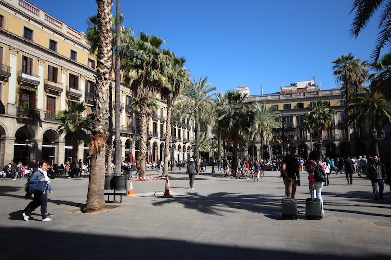 Wir hätten gerne eine Unterkunft im Zetrum Barcelonas gehabt