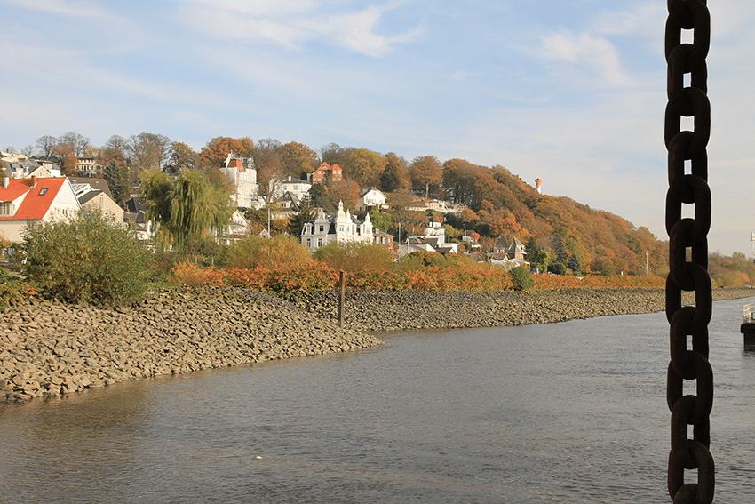 Blick auf Blankenese, Hamburg