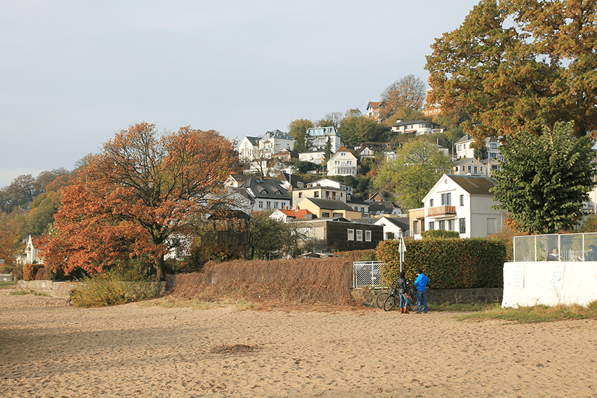 Elbstrand in Hamburg Blankenese: Insidertipp
