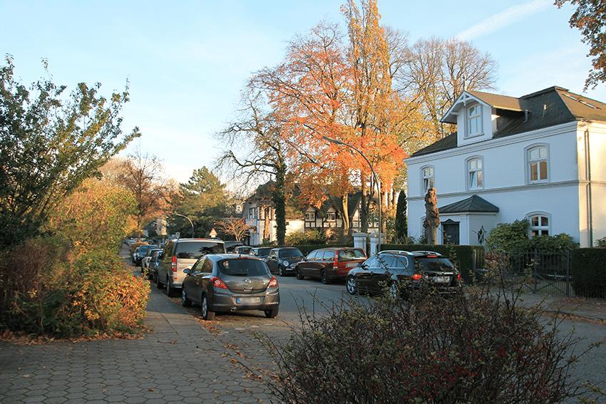 Herbstspaziergang durch Hamburg Blankenese