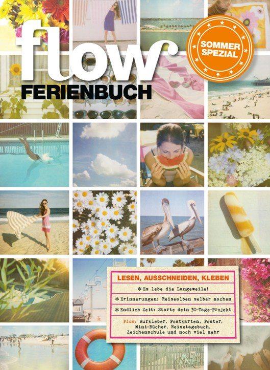 Geschenkidee für Kreative: Das Flow Ferienbuch
