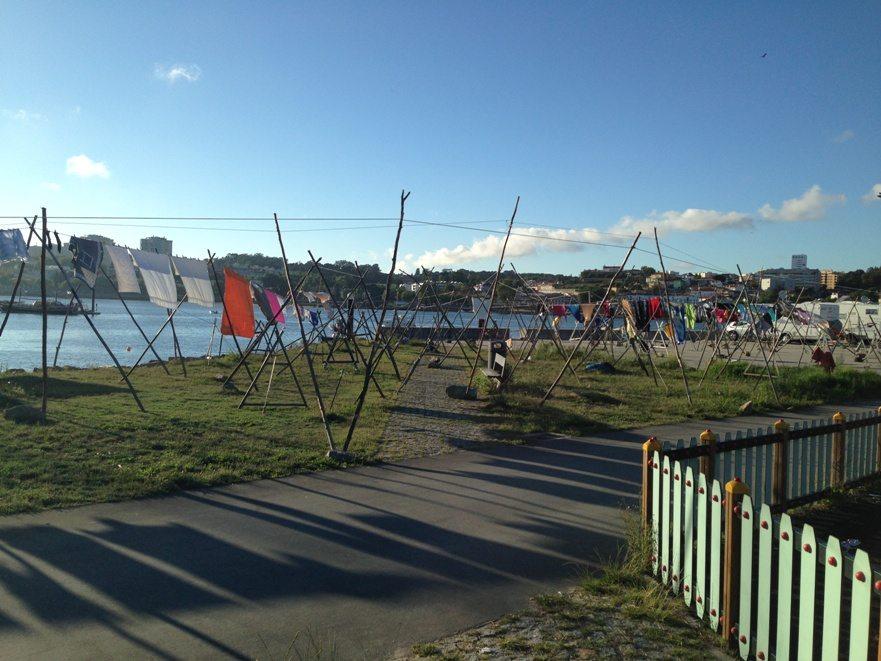 Am Ufer von Afurada (Porto)