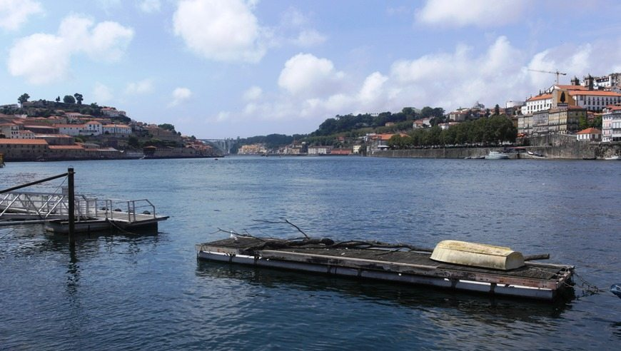 Tipp: Bis ins Viertel Foz von Porto fahren - Mündung Atlantik