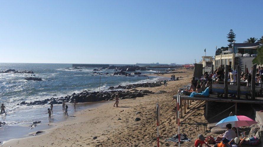 Strand Porto Foz Portugal