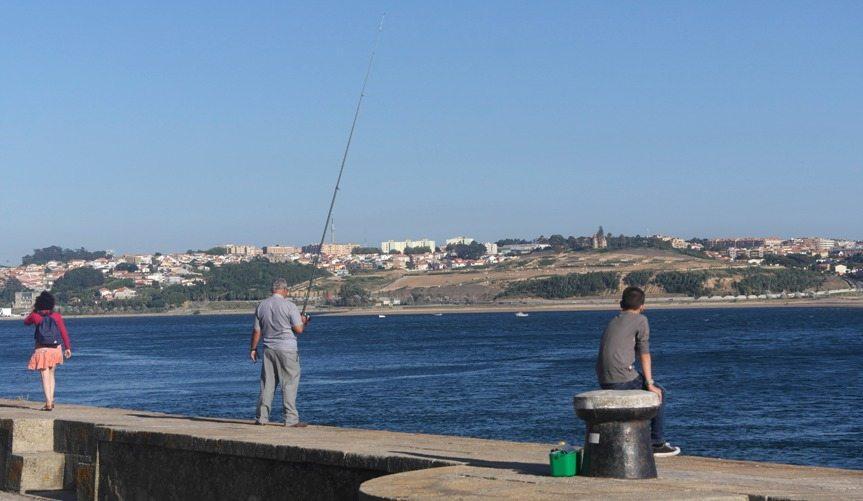 Porto an der Mündung zum Atlantik - Portugal