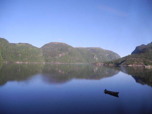 Rundreise Norwegen: Ausblick auf der Zugfahrt Bergen – Voss