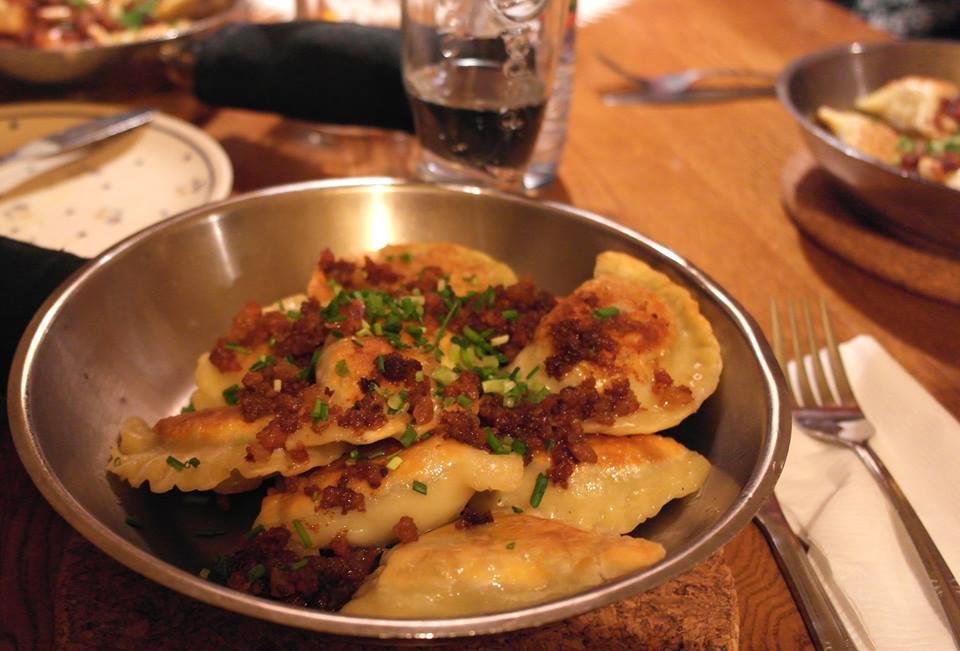 Polnisches Essen: Piroggen in Warschau