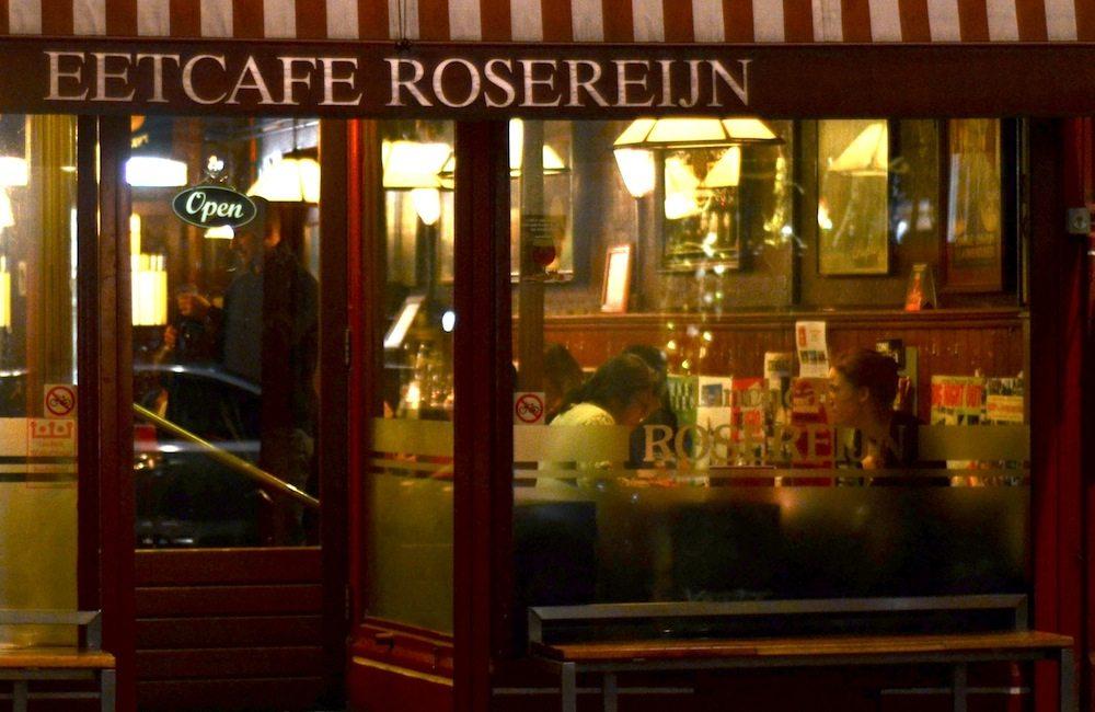 Eetcafe Rosereijn: Gutes Restaurant in der Haarlemmerdijk im Jordaan Viertel